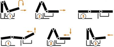 диван аккордеон механизм трансформации